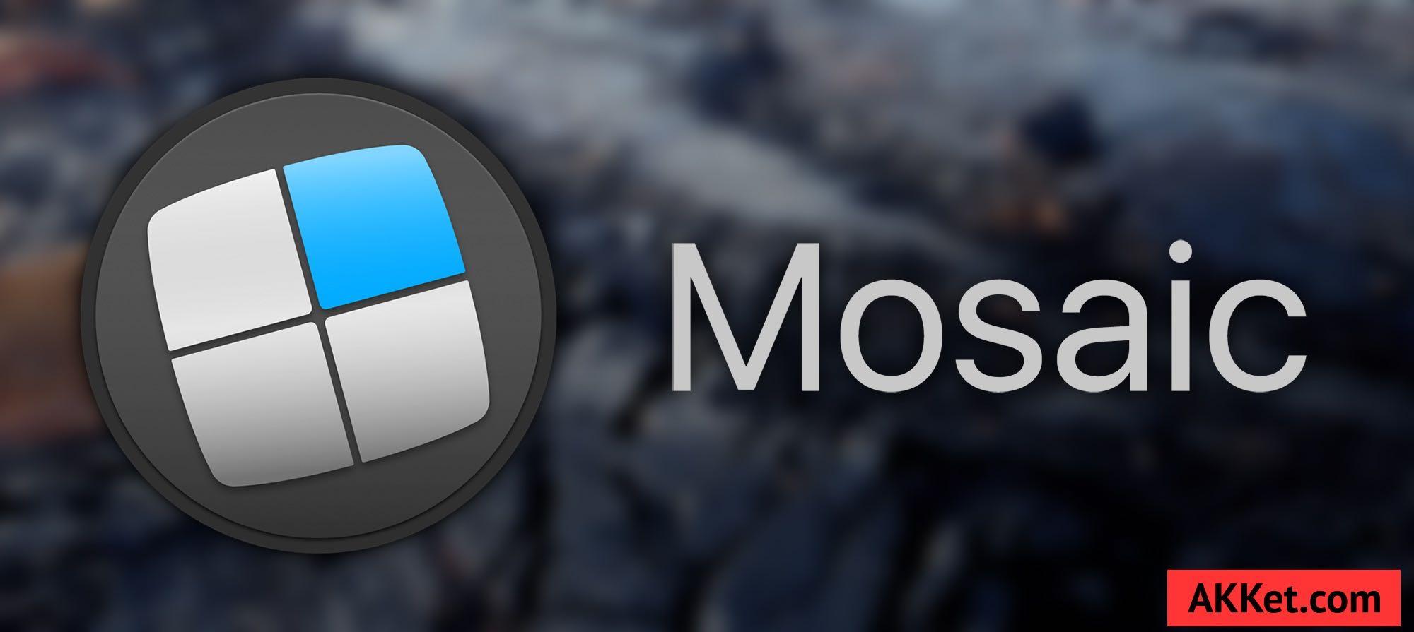 Mosaic Mac App Window Tidy Download review 12