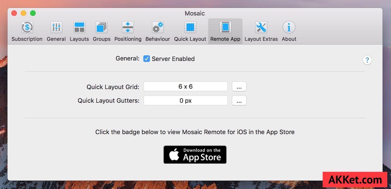 Mosaic Mac App Window Tidy Download review 8