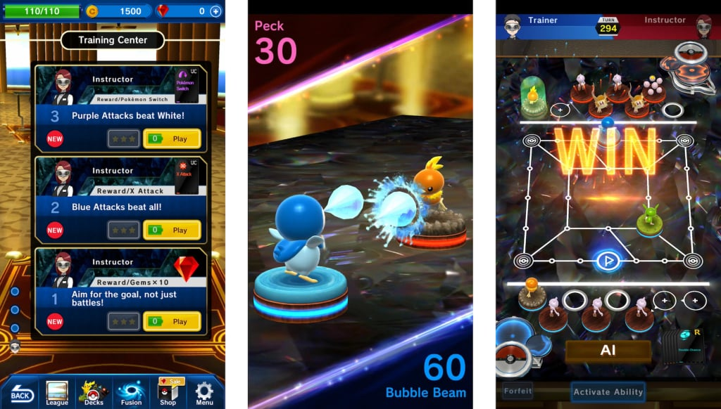Pokémon Duel iPhone iPad Android Download