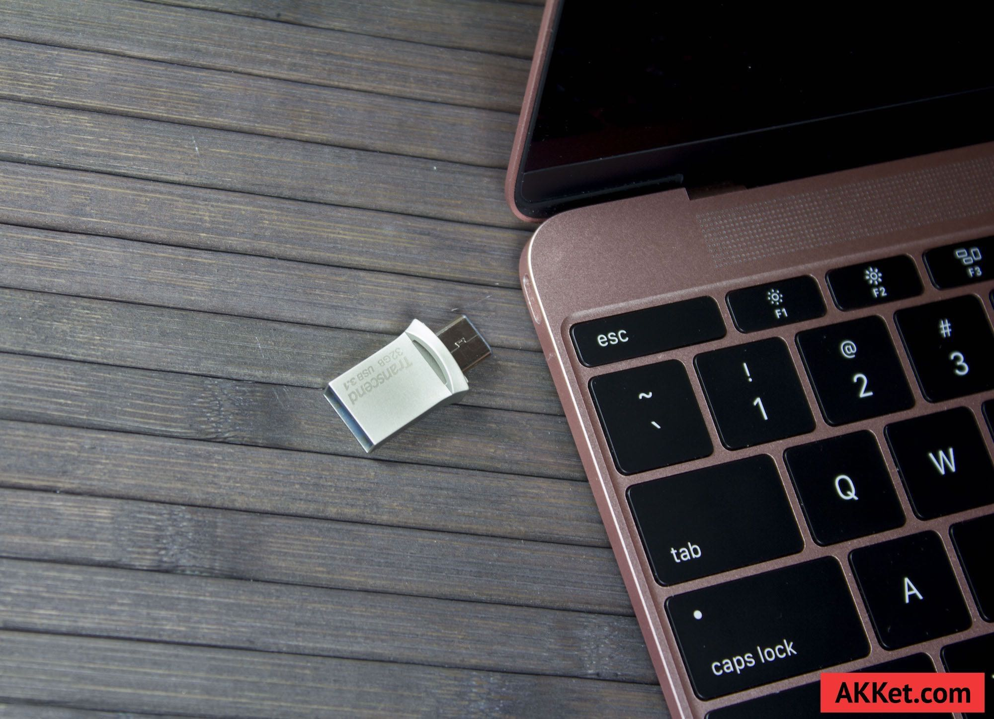 Transcend JetFlash 890S USB Type-C Review MacBook 12 Flash Drive 0 9