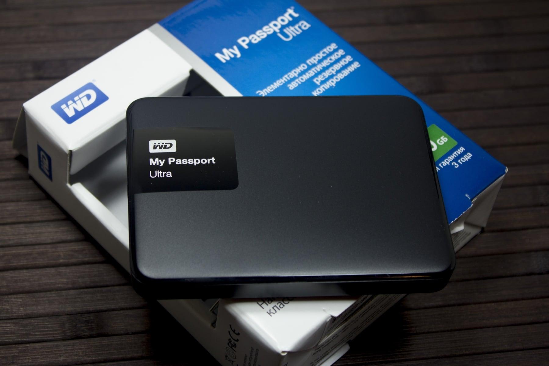Обзор внешнего жесткого диска WD My Passport Ultra в связке