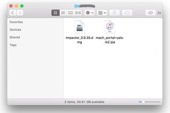 Yalu102 iPhone iPad