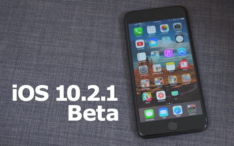 iOS 10.2.1 Beta 3 Download Load