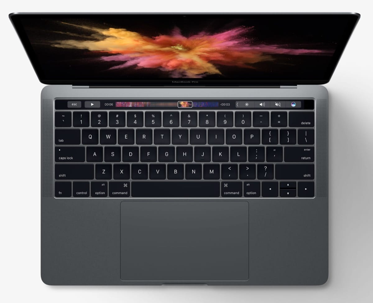 Apple MacBook Pro Kaby Lake Intel