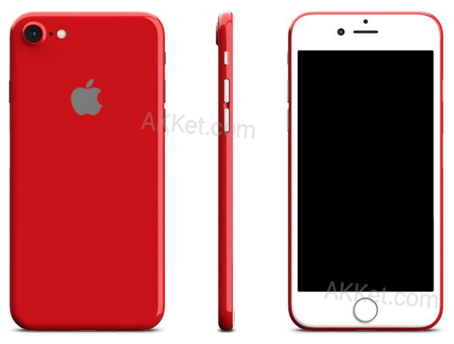 Apple iPhone 7 Plus Red 2