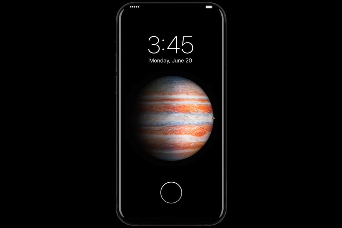 Apple iPhone 8 Concept OLED