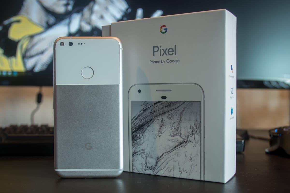 Google Pixel XL Unboxing 1