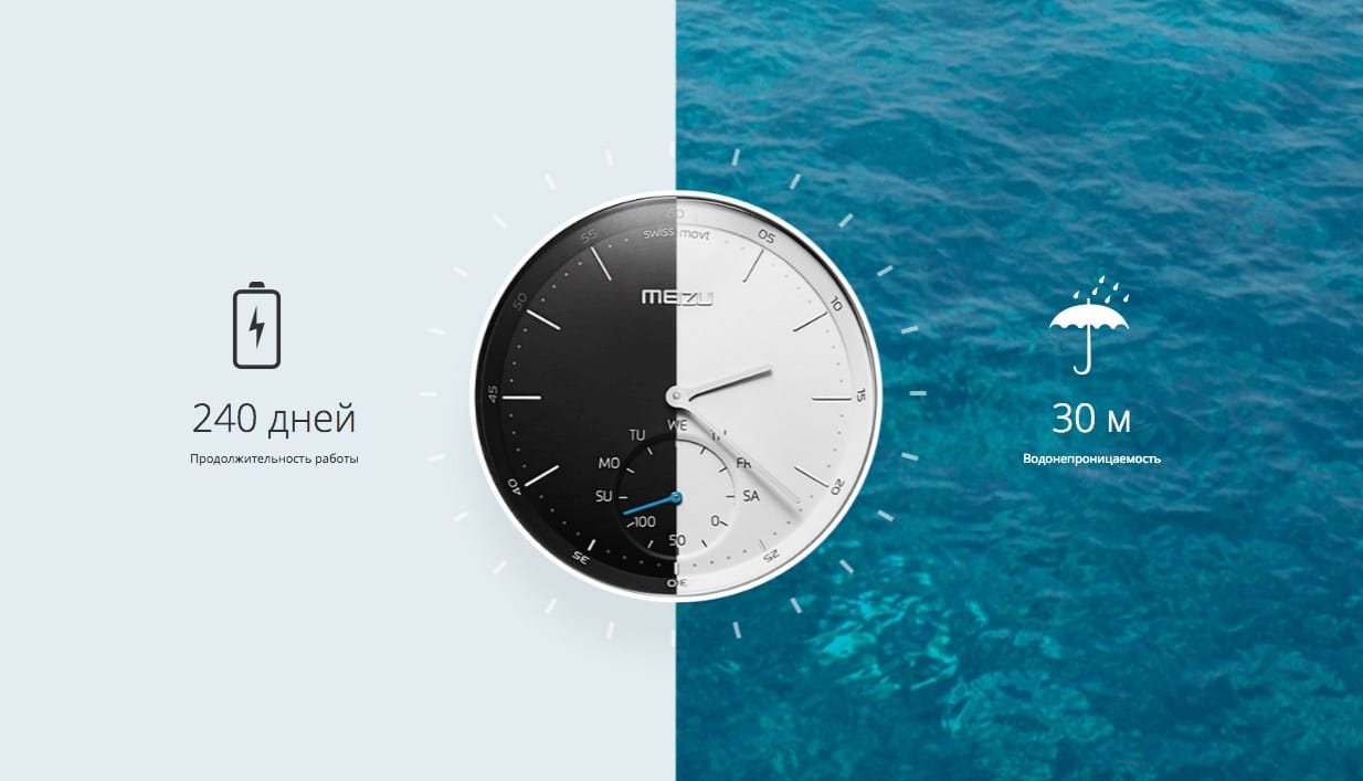 Meizu Mix Clock Watch Russia 2