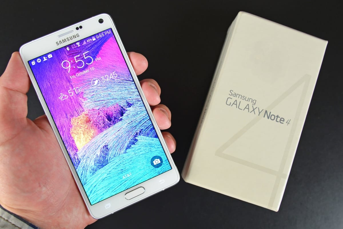 Samsung Galaxy Note 4 4
