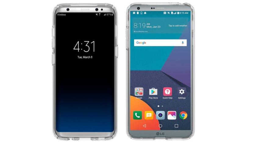 Samsung Galaxy S8 LG G6