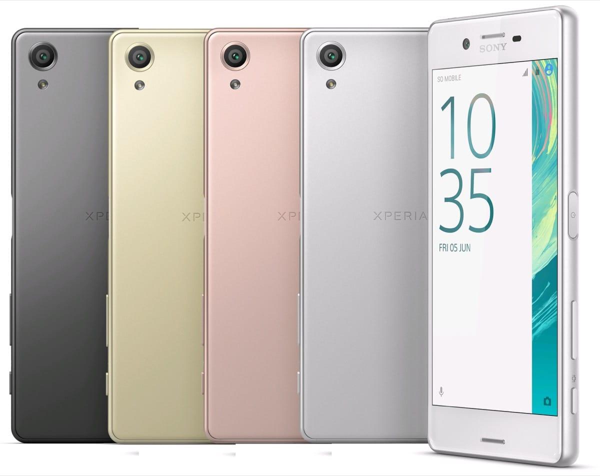 Sony Xperia X 0