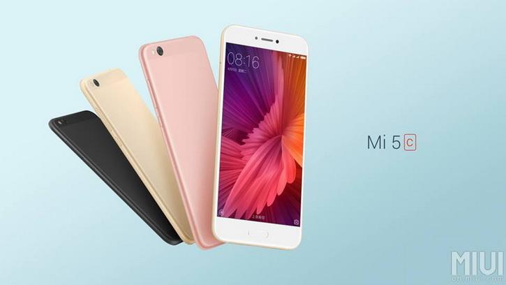 Xiaomi Mi5C Official 1
