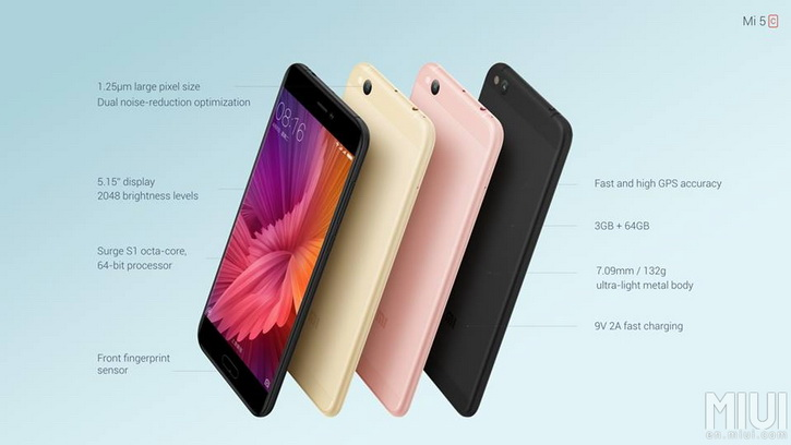 Xiaomi Mi5C Official 5