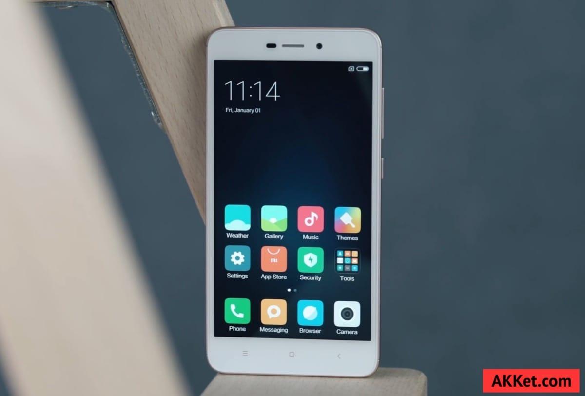 Xiaomi Redmi 4A Review Russia AKKet.com 3