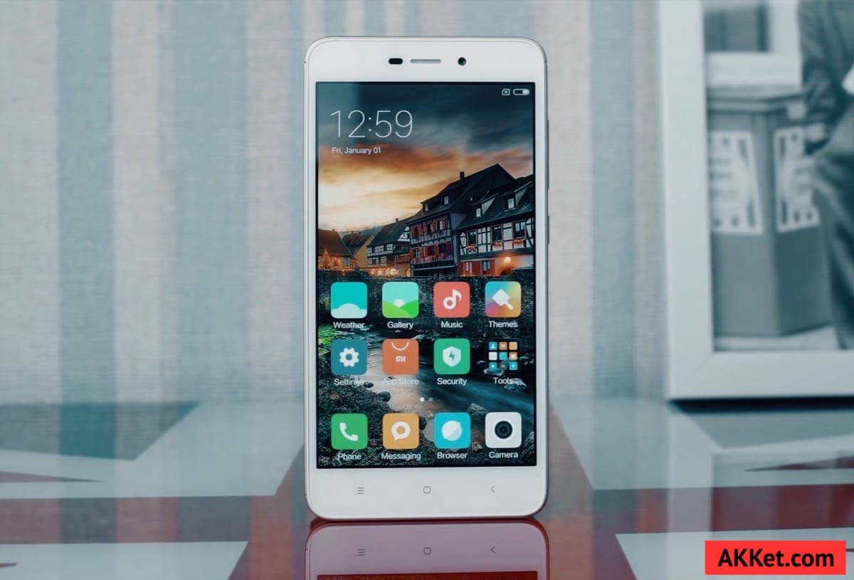 Xiaomi Redmi 4A Review Russia AKKet.com 4