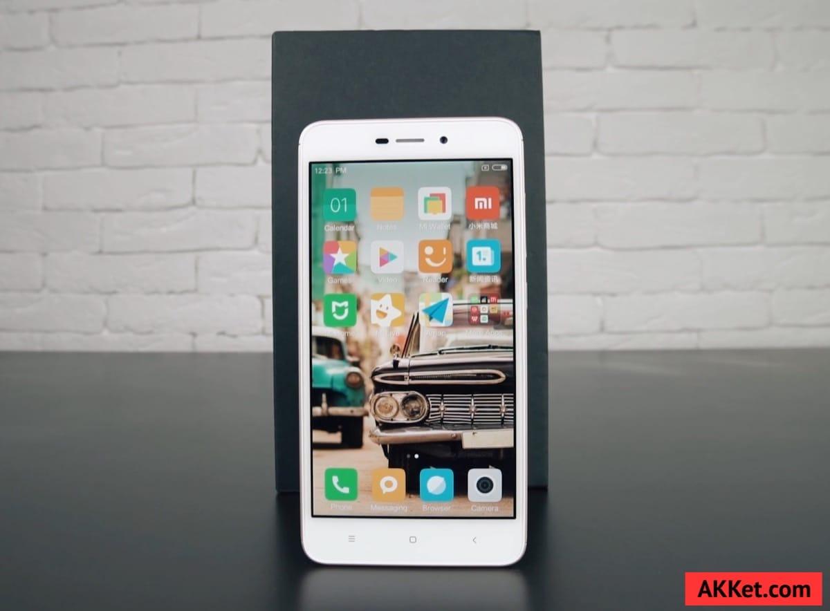 Xiaomi Redmi 4A Review Russia AKKet.com 5