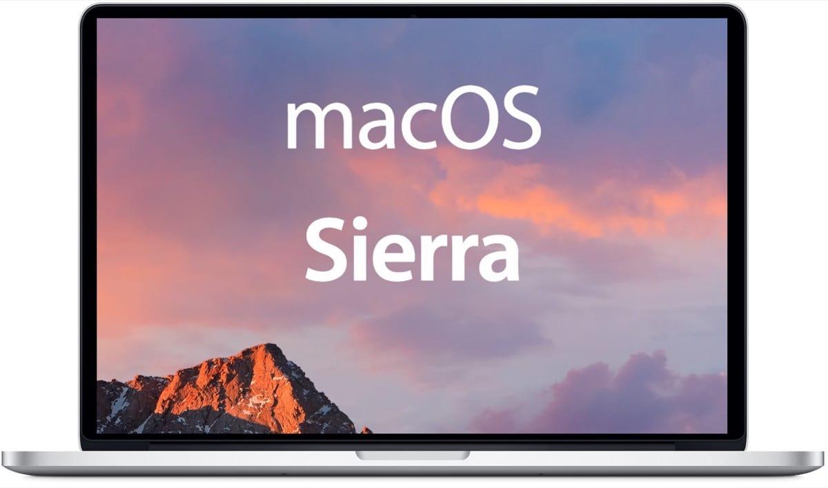 macOS Sierra Mac