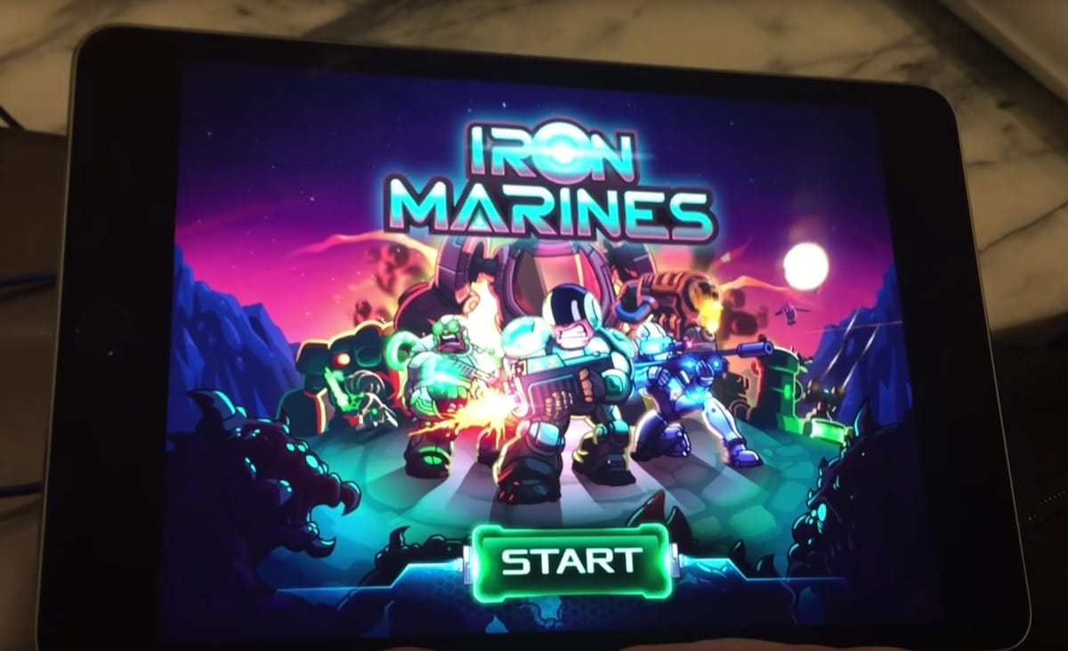 Iron Marines Ironhide Games 988
