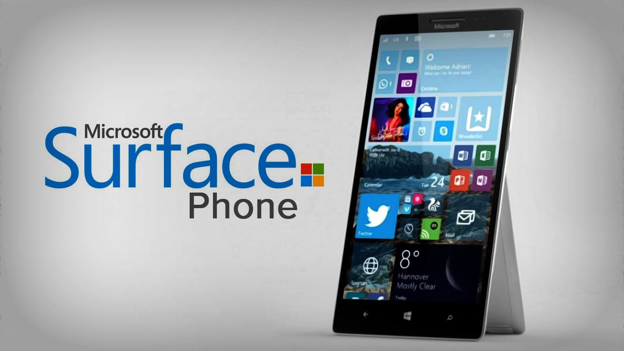 Microsoft Surface Phone 2017