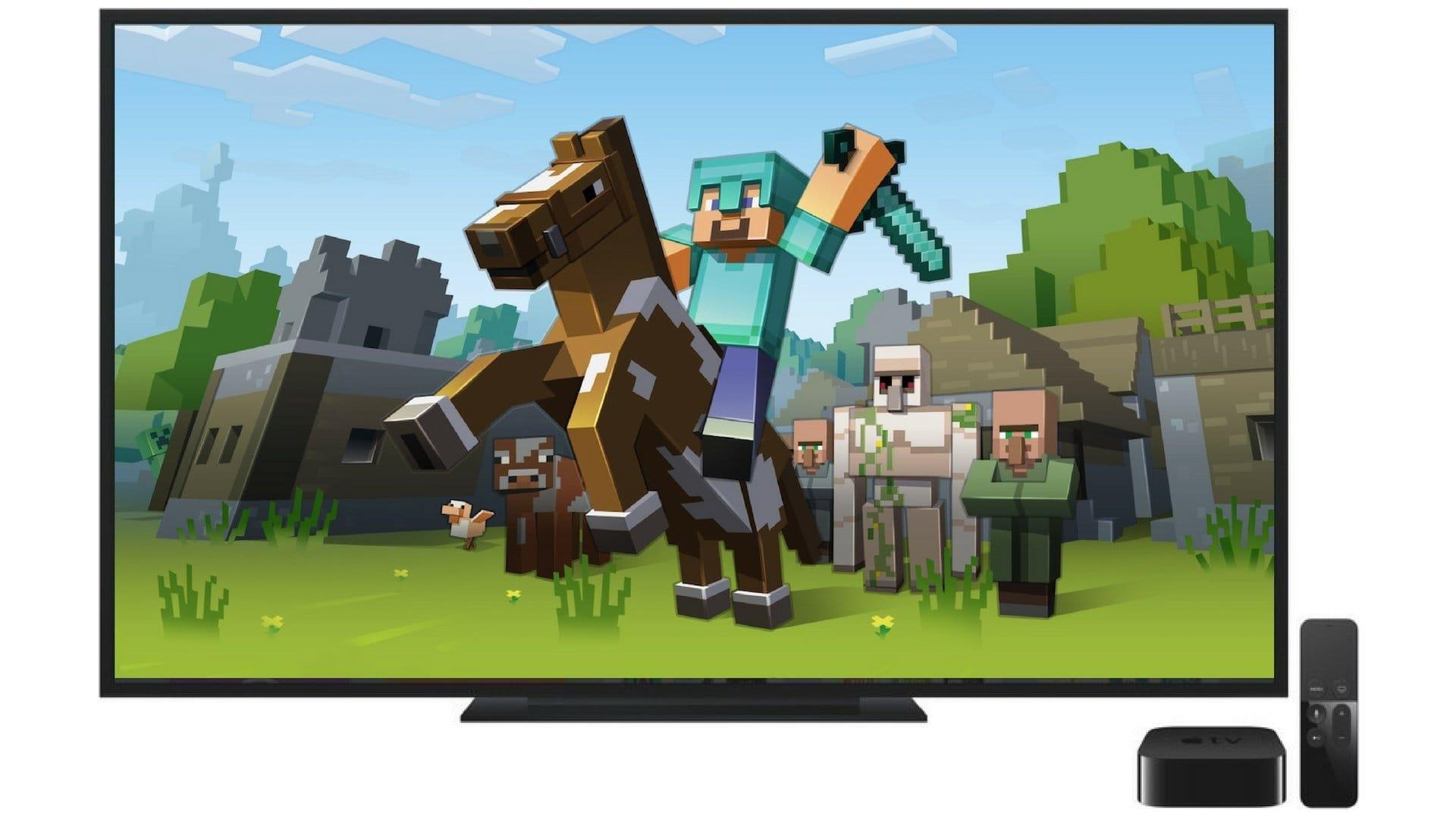 Minecraft Apple TV Download