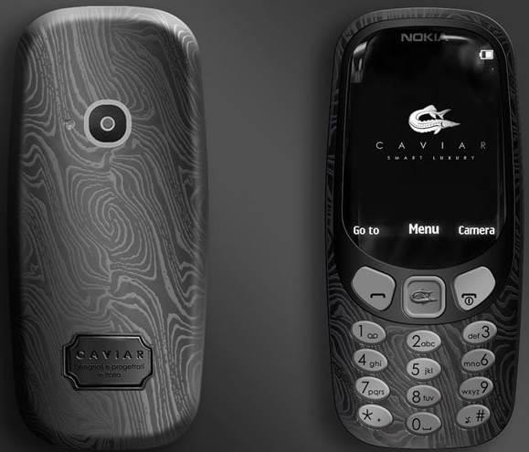 Nokia 3310 Supremo Putin Caviar 2