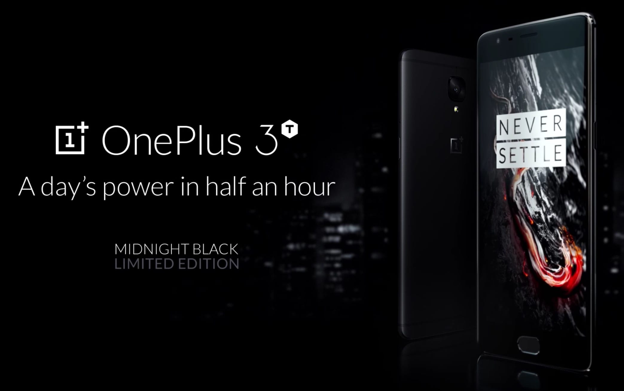 OnePLus 3T Midnight Black Buy 1