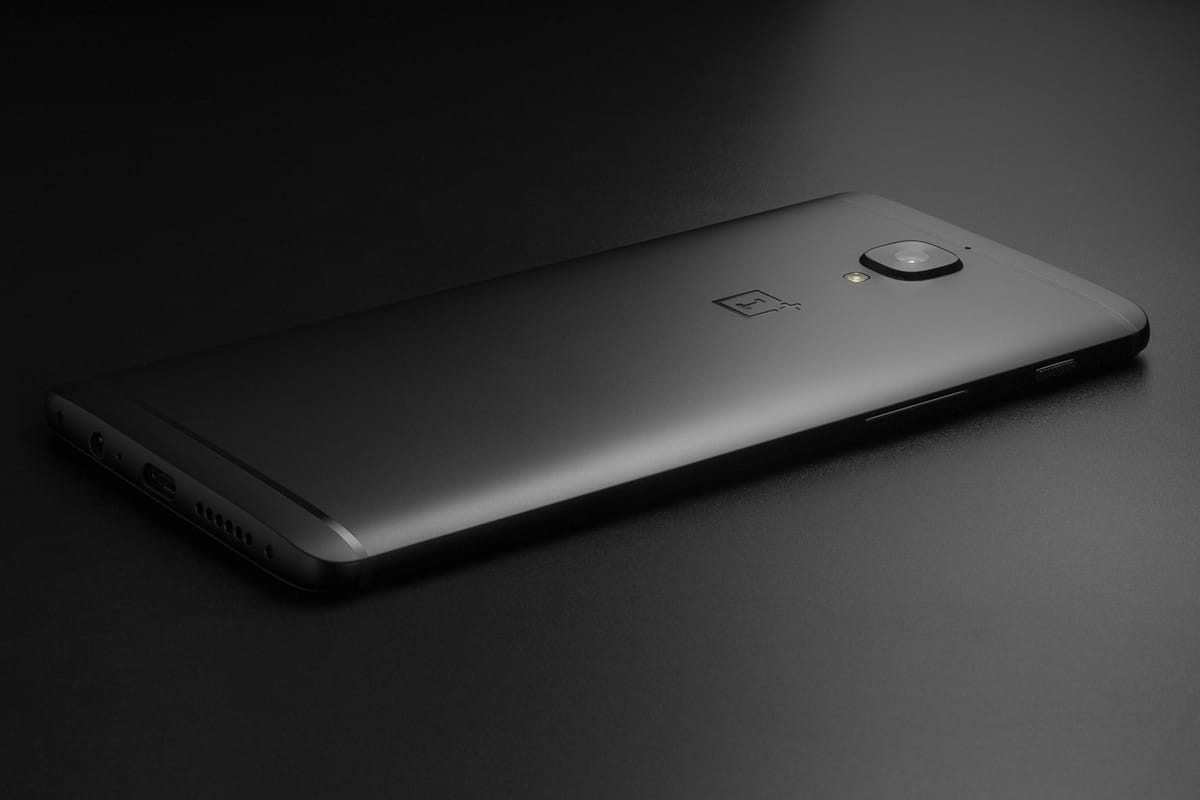OnePlus 3T Russia Midnight Black 1