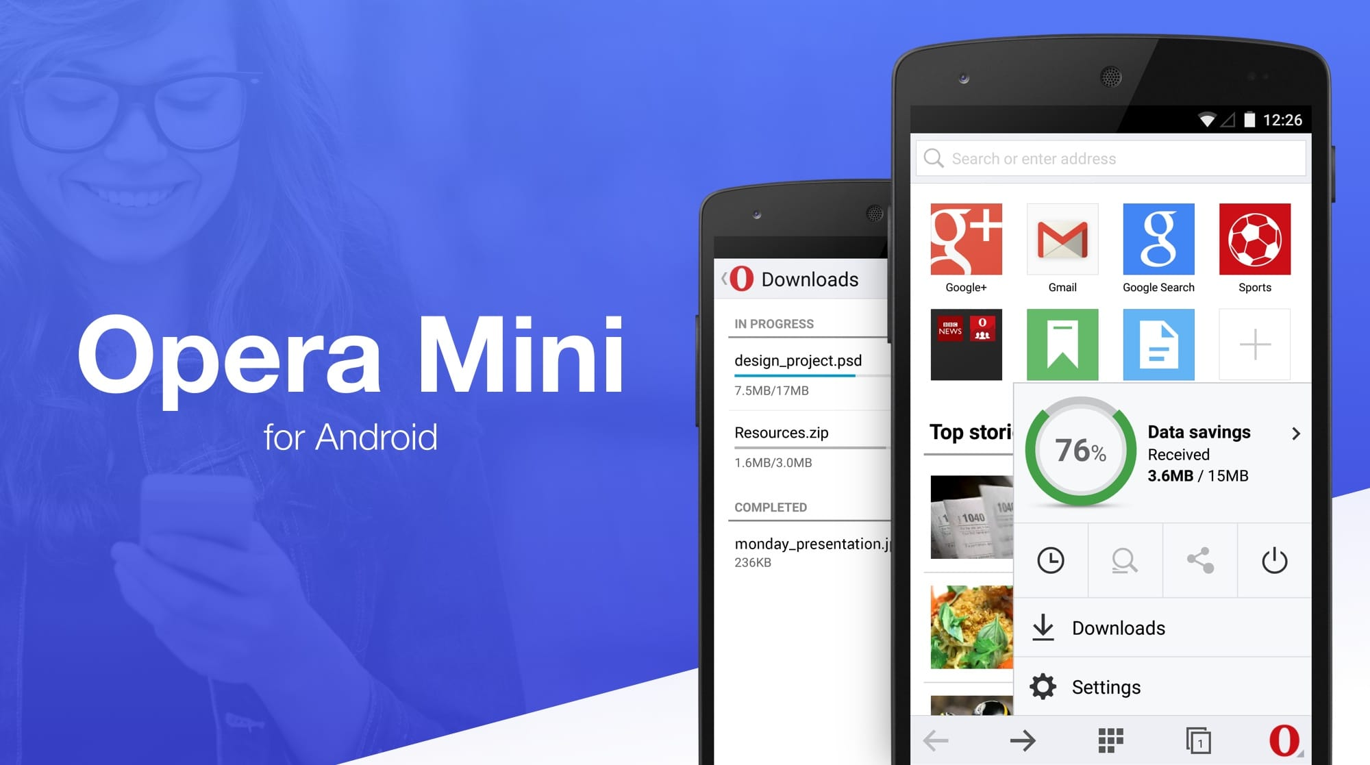 Opera Mini Android Download