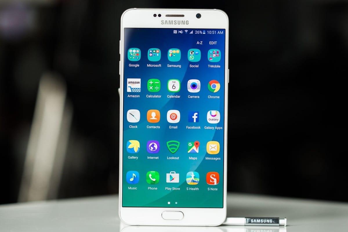 Samsung Galaxy Note 5 1