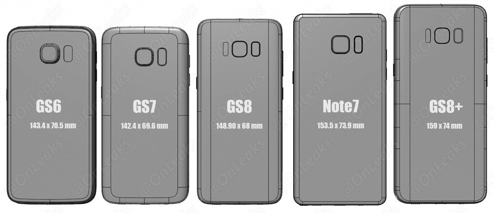 Samsung Galaxy S7 size iPhone 7 Plus 4