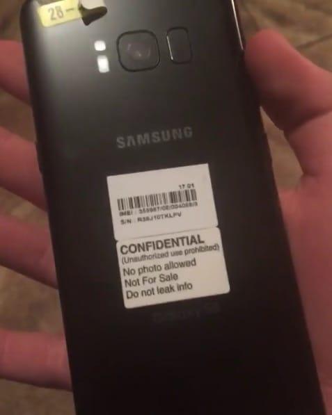 Samsung Galaxy S8 555