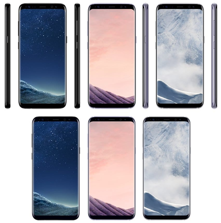 Samsung Galaxy S8 Galaxy S8+ Russia Europe