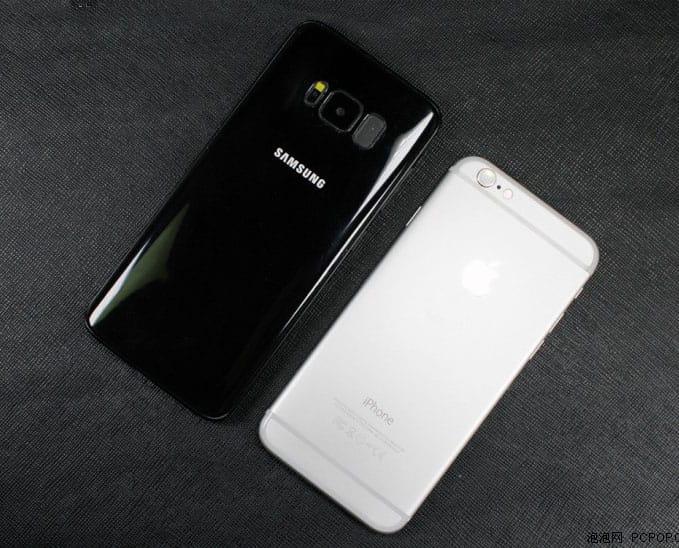 Samsung Galaxy S8 iPhone 7 1
