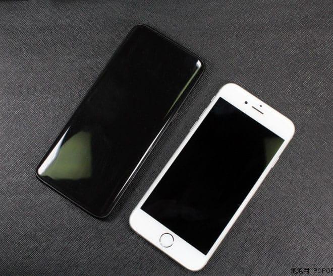 Samsung Galaxy S8 iPhone 7 4