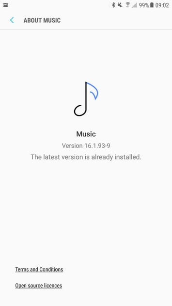 Samsung Music Galaxy S8 6