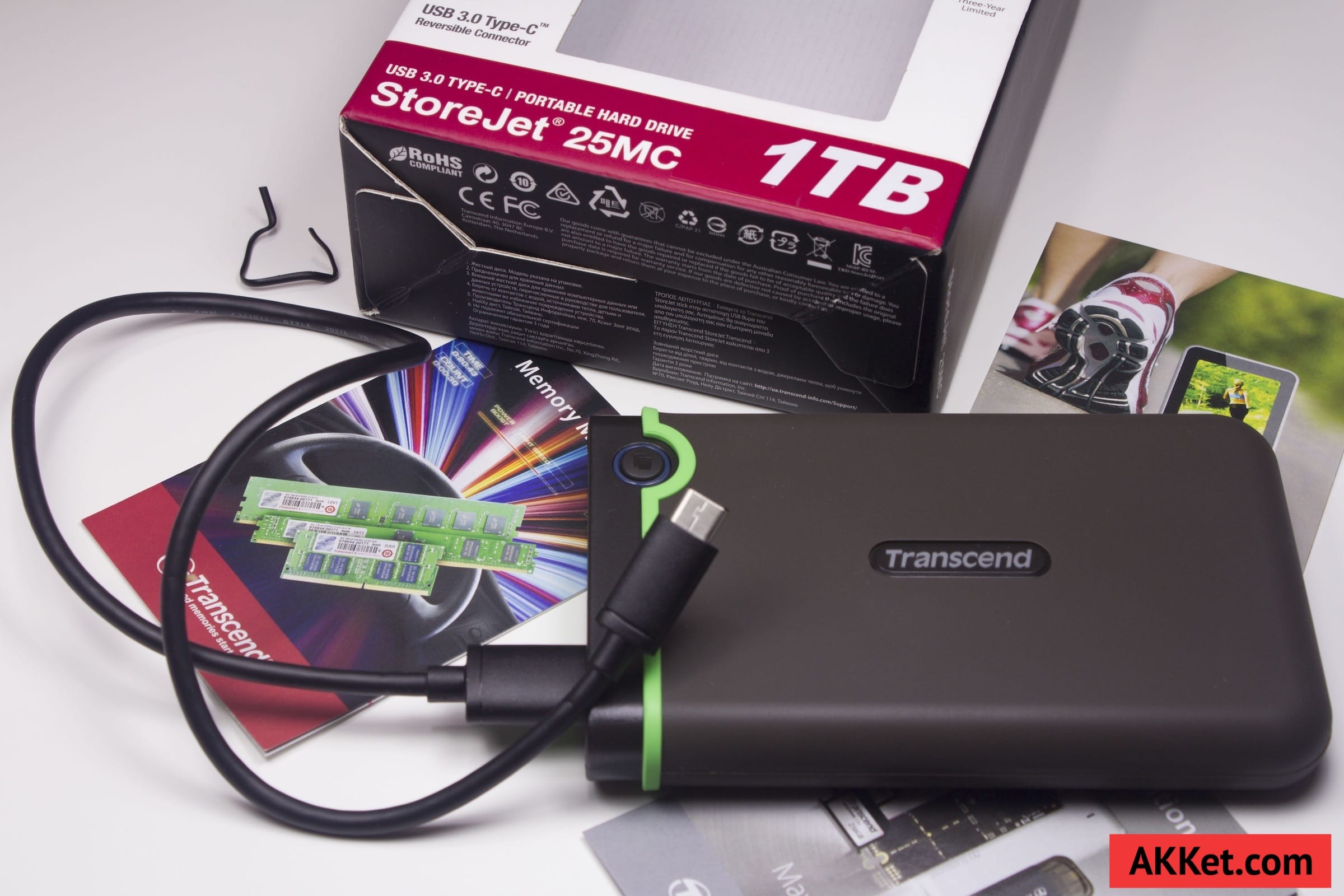 Transcend StoreJet 25MC (TS1TSJ25MC) USB Type-C Review Russia 19