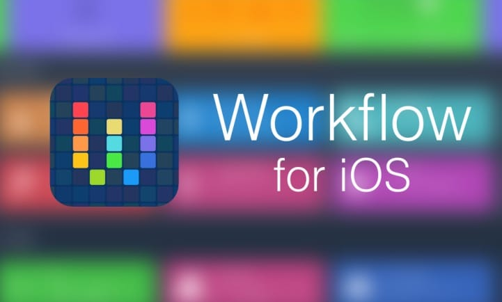 Workflow for iOS Download Free