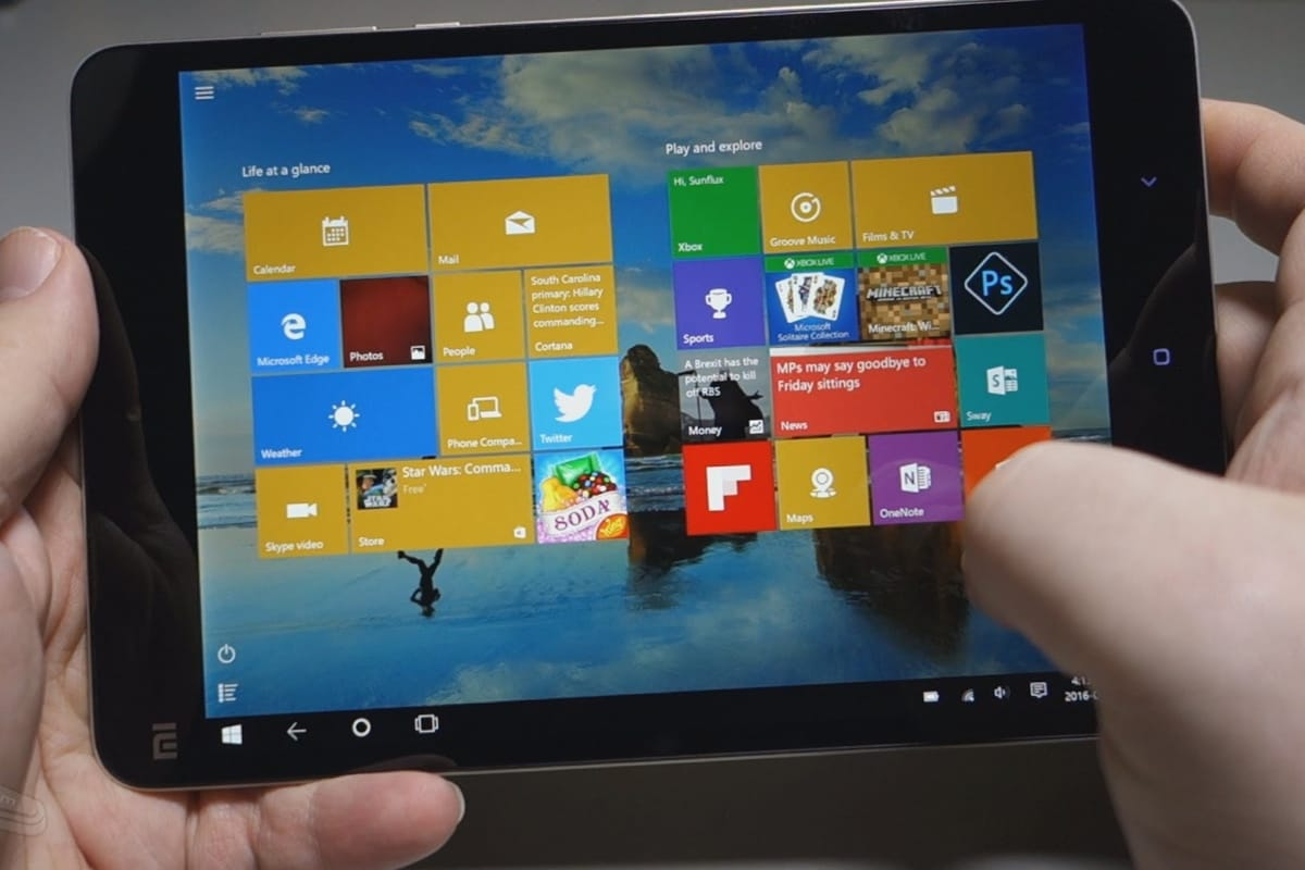 Xiaomi Mi Pad windows 10 1