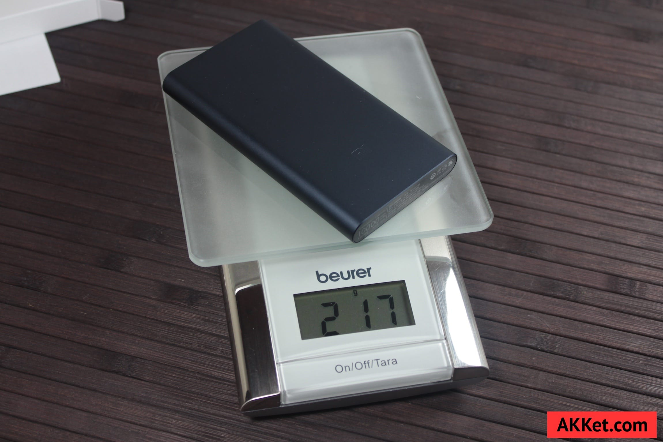 Xiaomi Mi Power Bank 10000 mAh Review iPhone SE AKKet.com 16