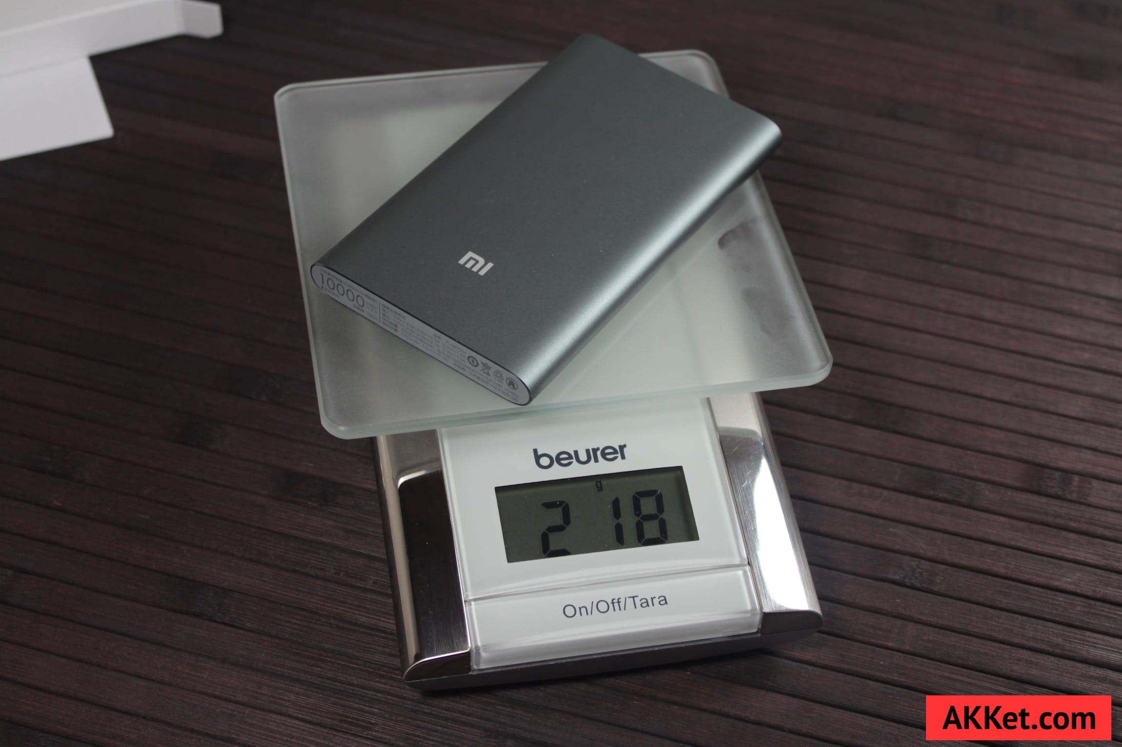 Xiaomi Mi Power Bank 10000 mAh Review iPhone SE AKKet.com 17