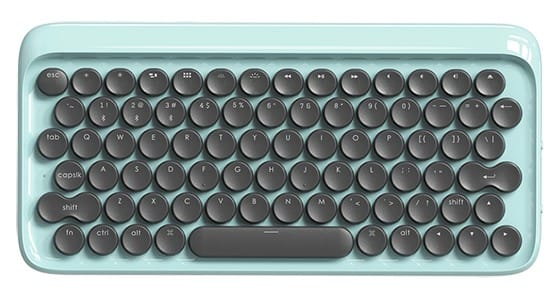 lofree typewriter inspired mechanical keyboard 2