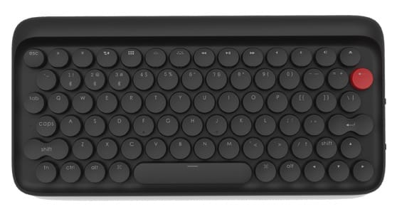 lofree typewriter inspired mechanical keyboard 3