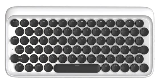 lofree typewriter inspired mechanical keyboard