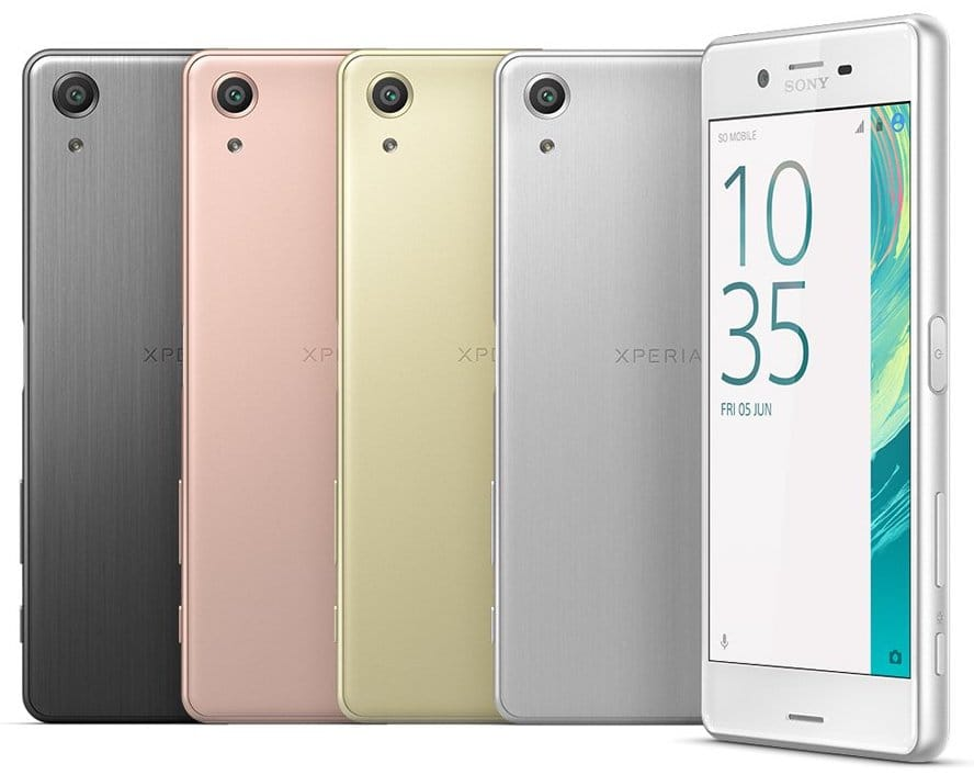 sony xperia x performance 1