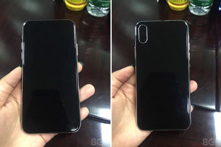 Очередной вариант дизайна iPhone 8 опубликовали винтернете