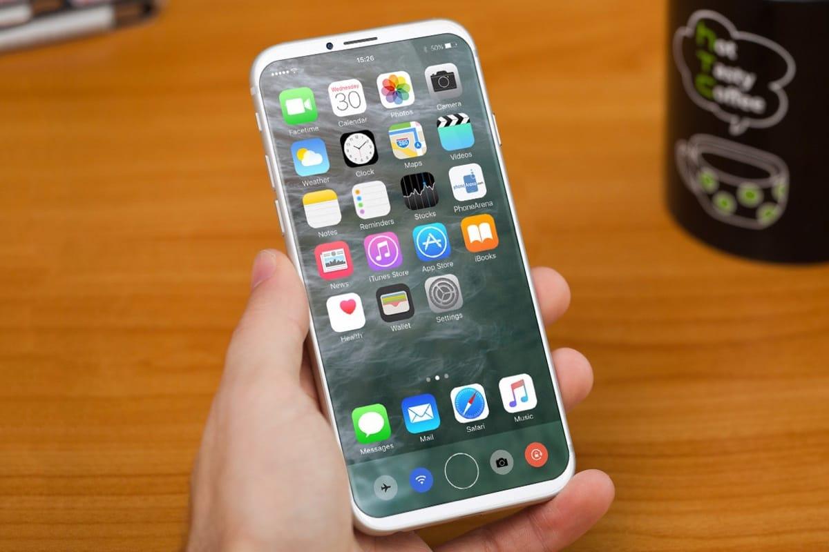 Шаблоны iPhone 7S, iPhone 7S Plus иiPhone 8 совместно нафото