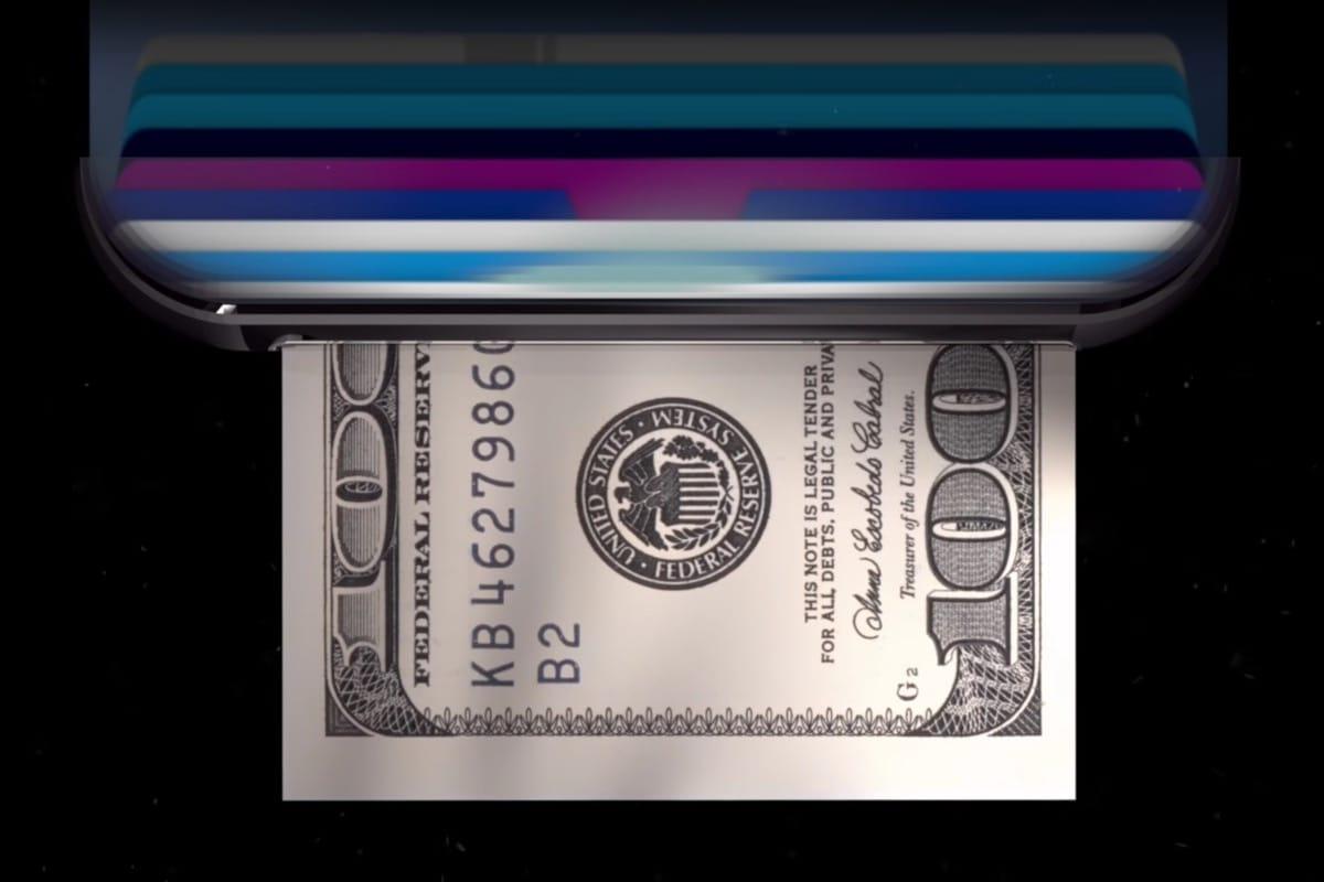 ВiPhone 8 посоветовали добавить функцию печати денежных средств
