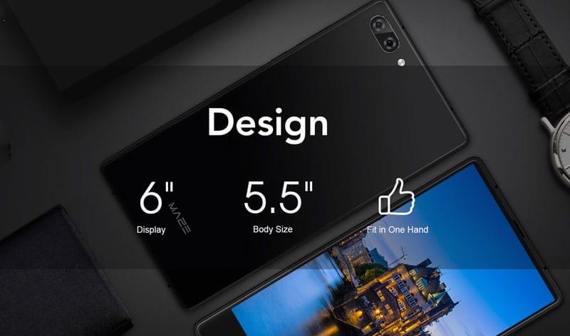 Безрамочный Maze Alpha по крайне низкой цене стал «убийцей» Galaxy S8 и iPhone 8