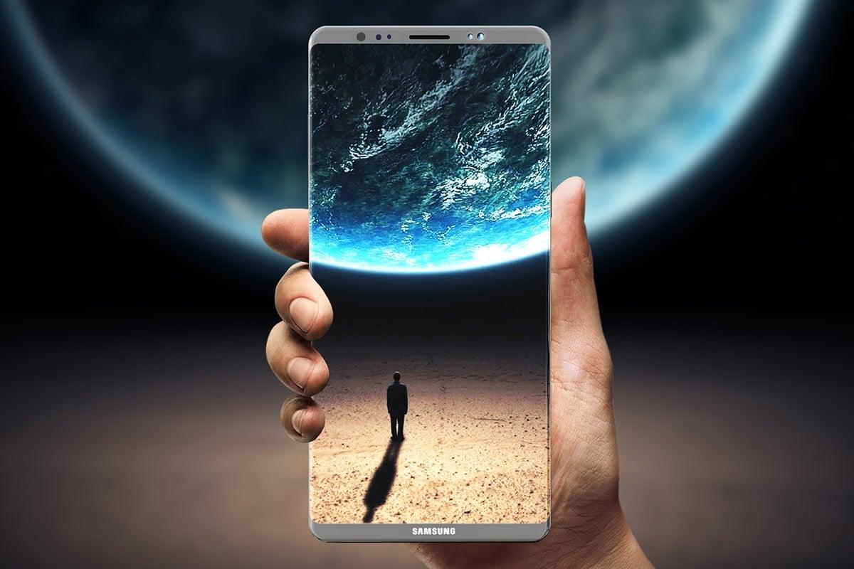 Самсунг Galaxy Note 8 предстал нафото ивидео вweb-сети интернет