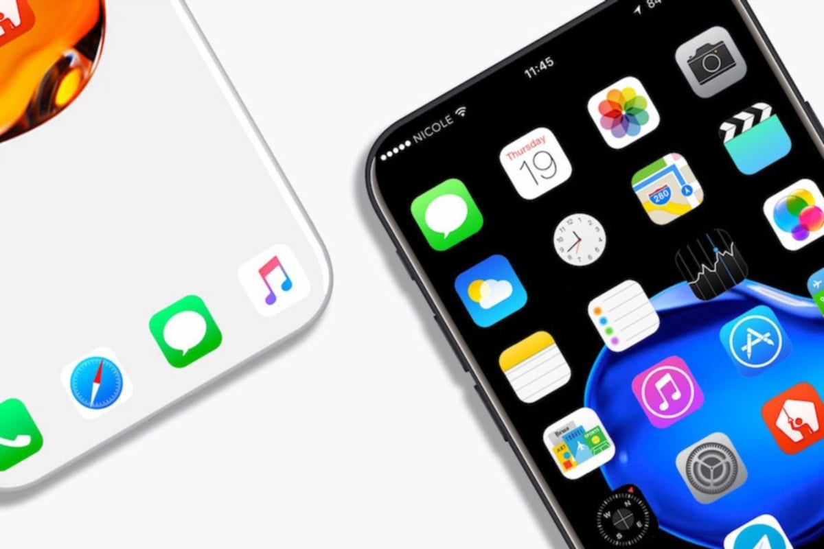 ВСеть слили первые фотографии панелей IPhone 8